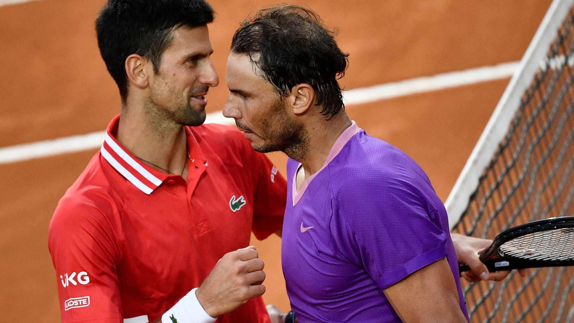 What Has Novak Djokovic Done Better Than Rafael Nadal At Roland Garros Atp Tour Tennis