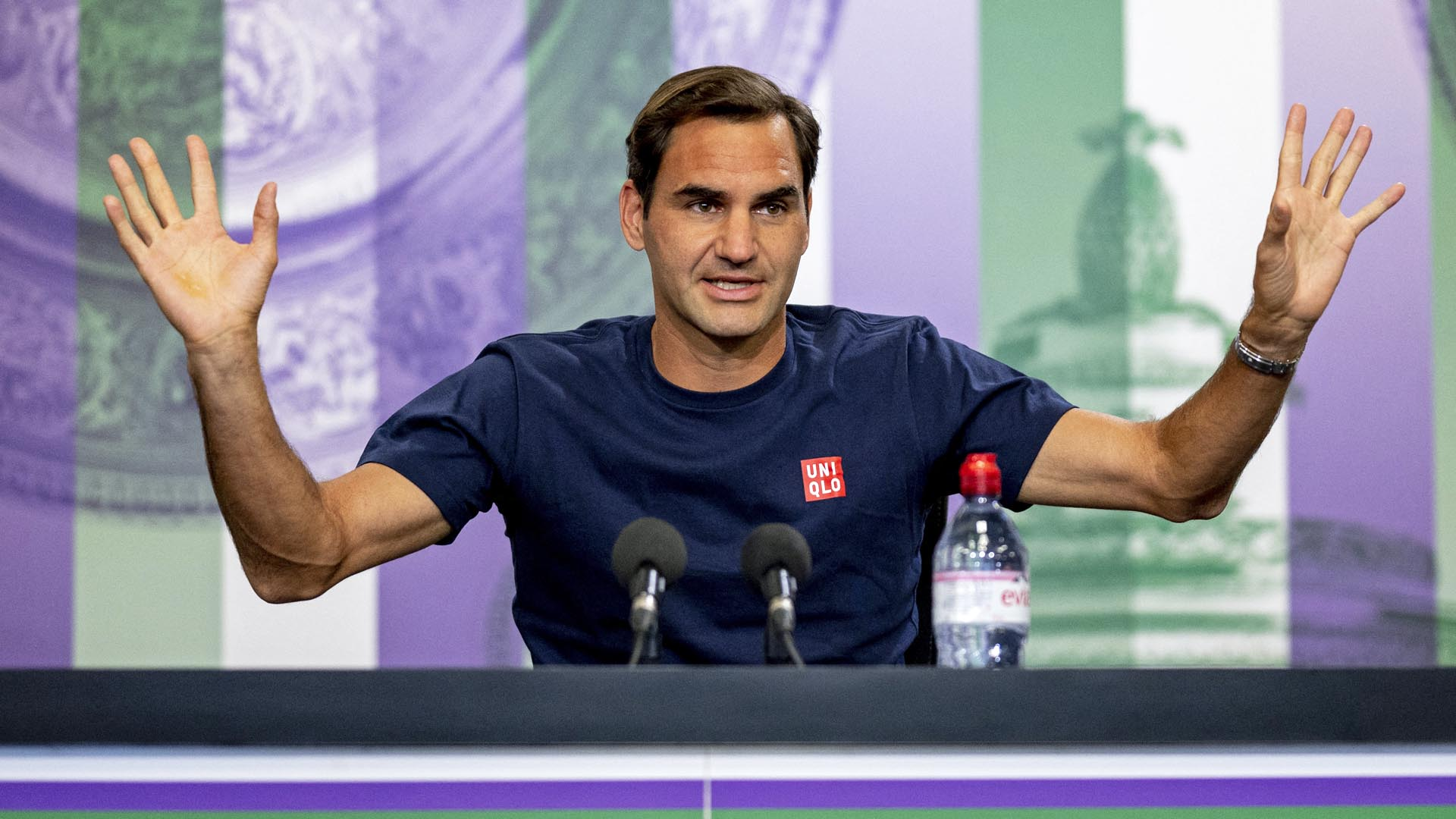 In 46 years, Federer becomes the oldest player to reach the third round at Wimbledon