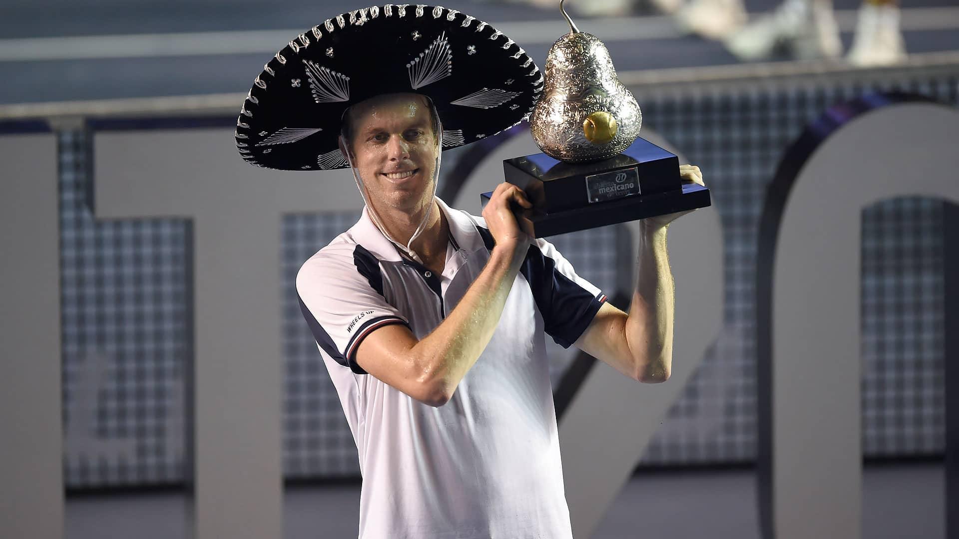 Querrey se lleva el título en Acapulco ante Rafa Nadal.