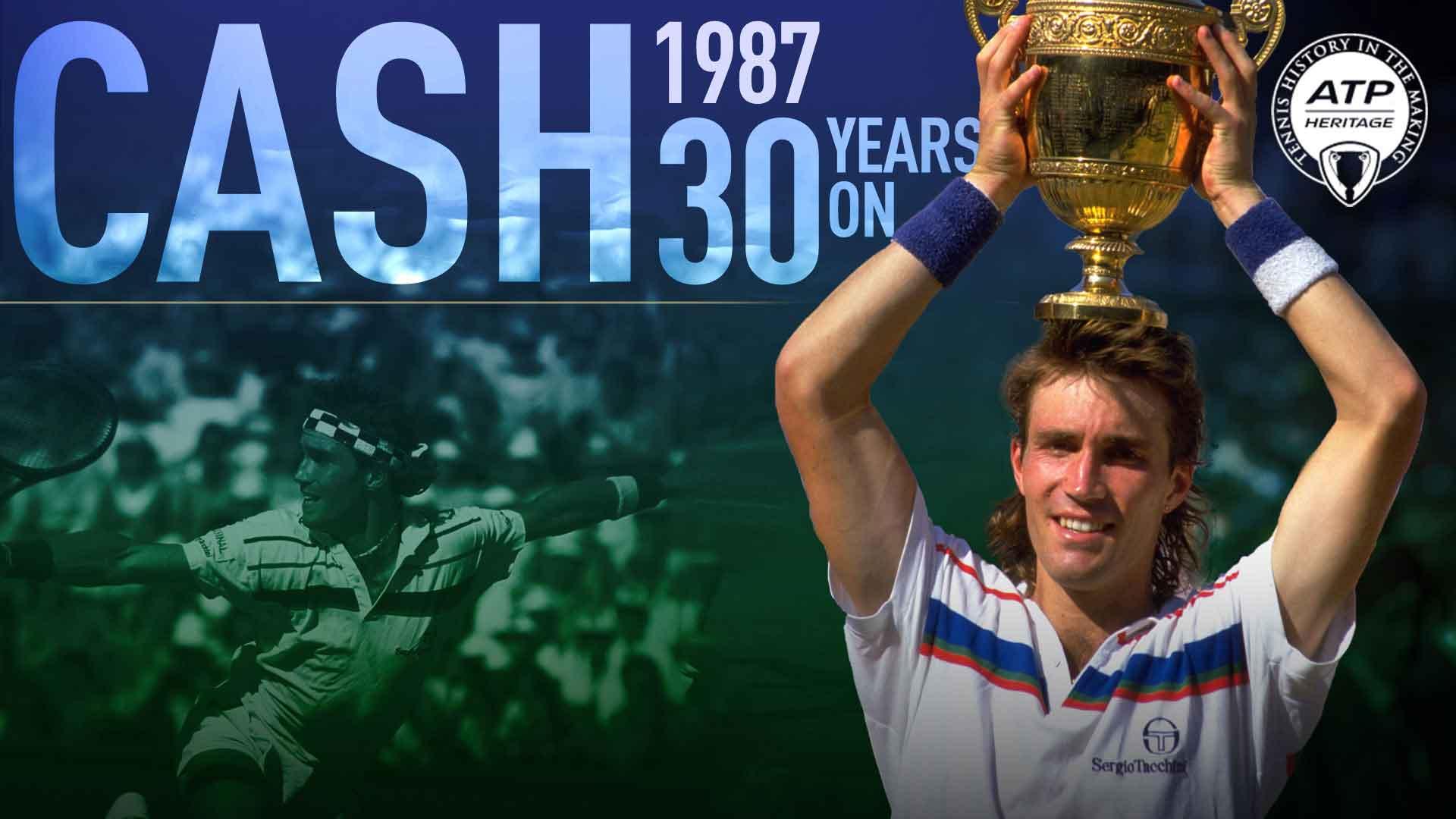 Pat Cash... Remembering 1987 Wimbledon | ATP World Tour | Tennis