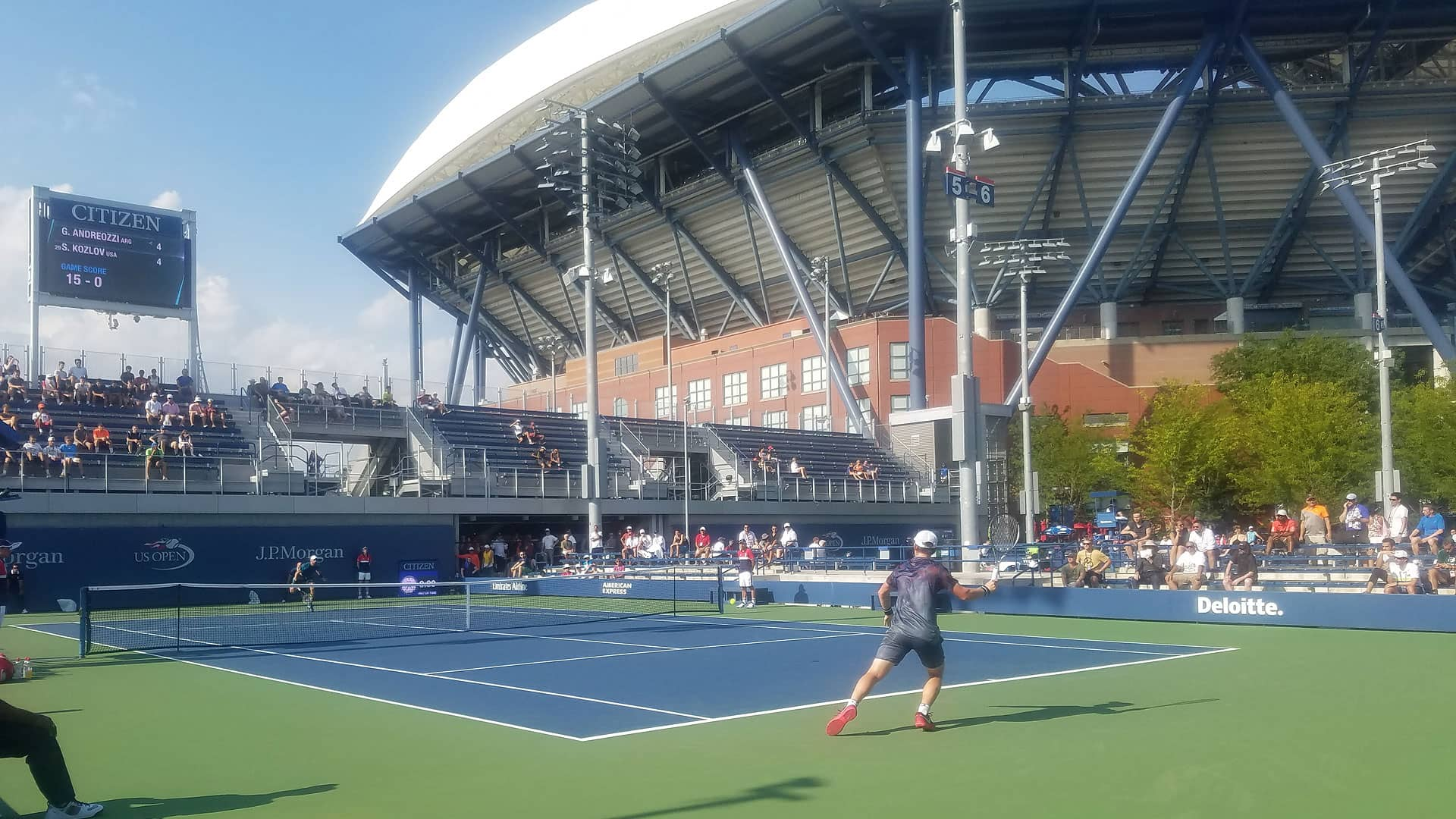 US Open Tennis Championships The Official Guide To New York City - Us open venue map
