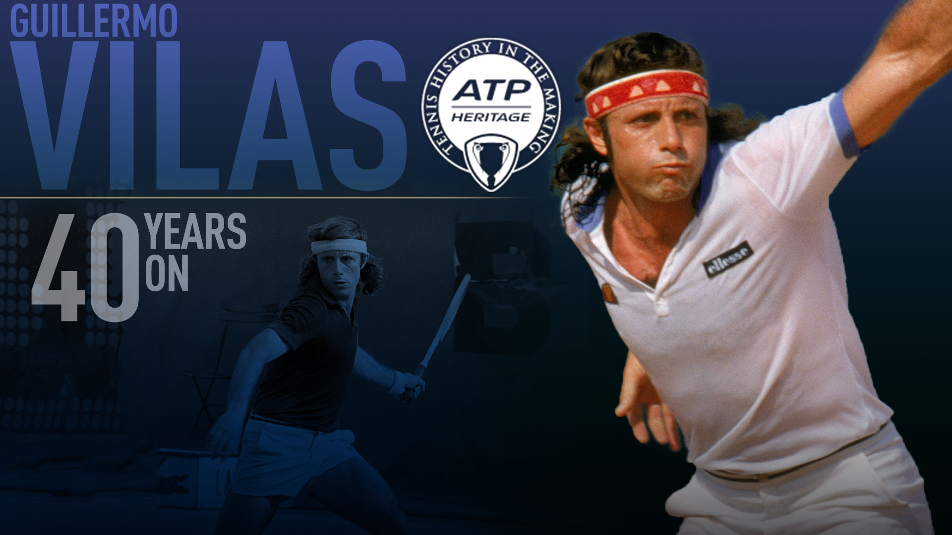 Guillermo Vilas Remembering 1977 US Open ATP World Tour