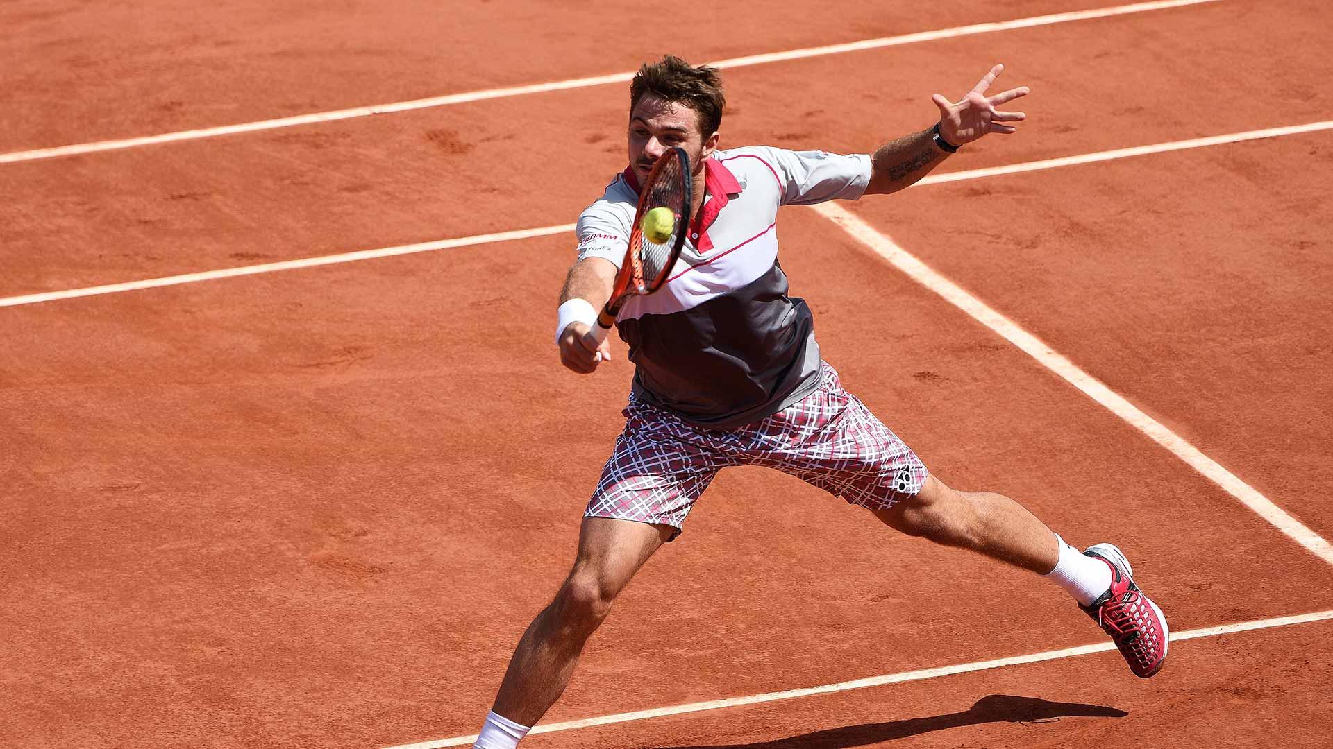 Roland Garros Sunday Wawrinka
