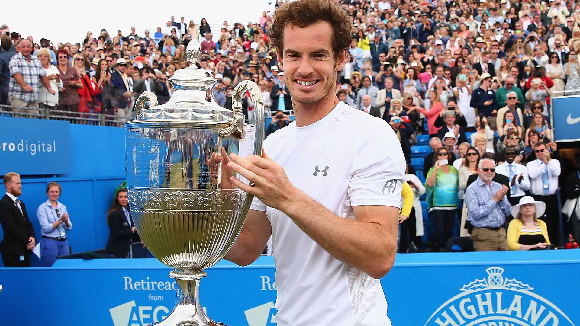 Murray se convierte en el primer jugador en ganar 5 veces en Queens