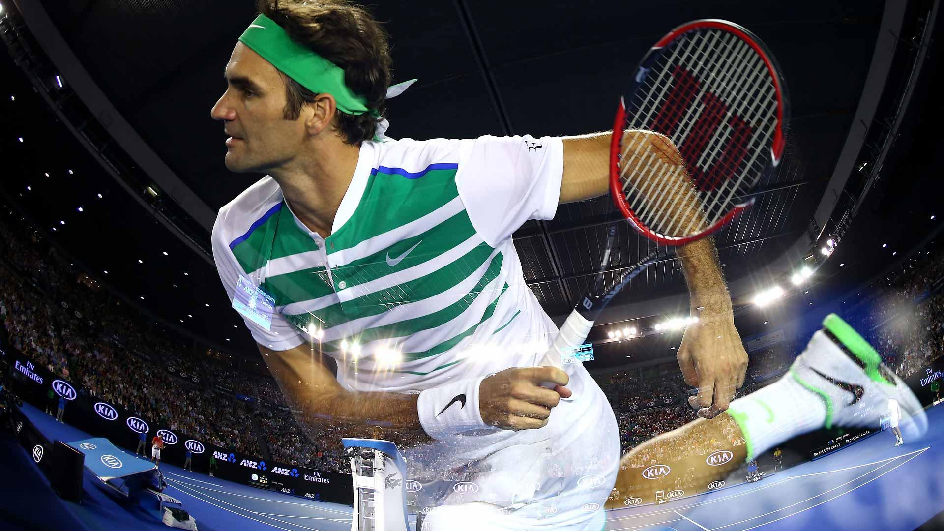 Federer Not Happy With Murray Federer Australian Open Friday