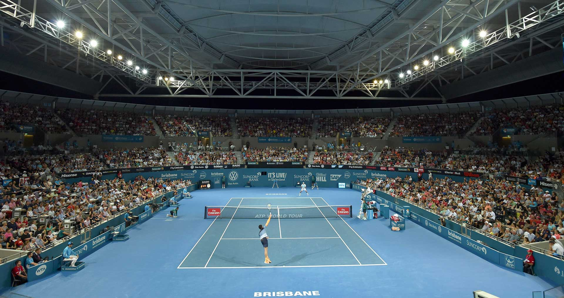 how to get to queensland tennis centre