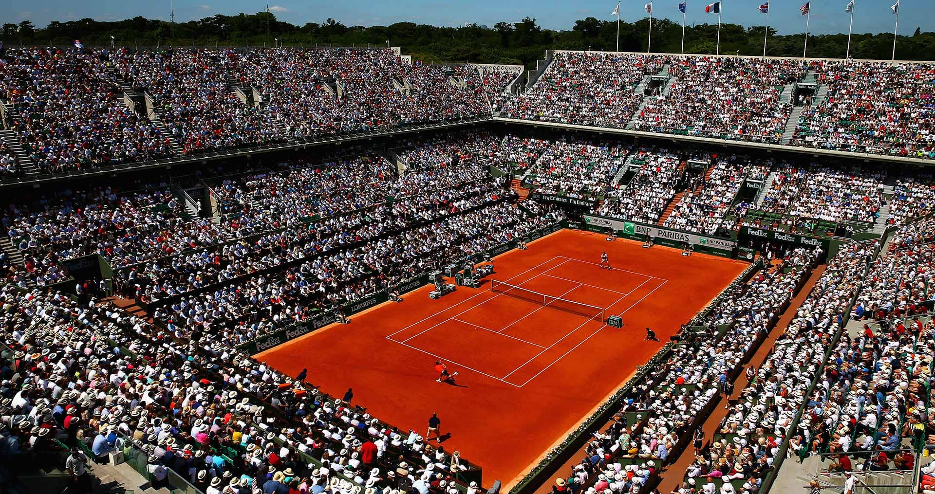 Estádio Roland Garros em Paris