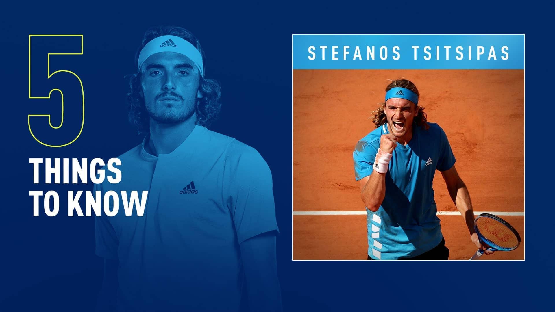 Cinco Cosas A Saber Sobre Stefanos Tsitsipas Atp Tour Tenis