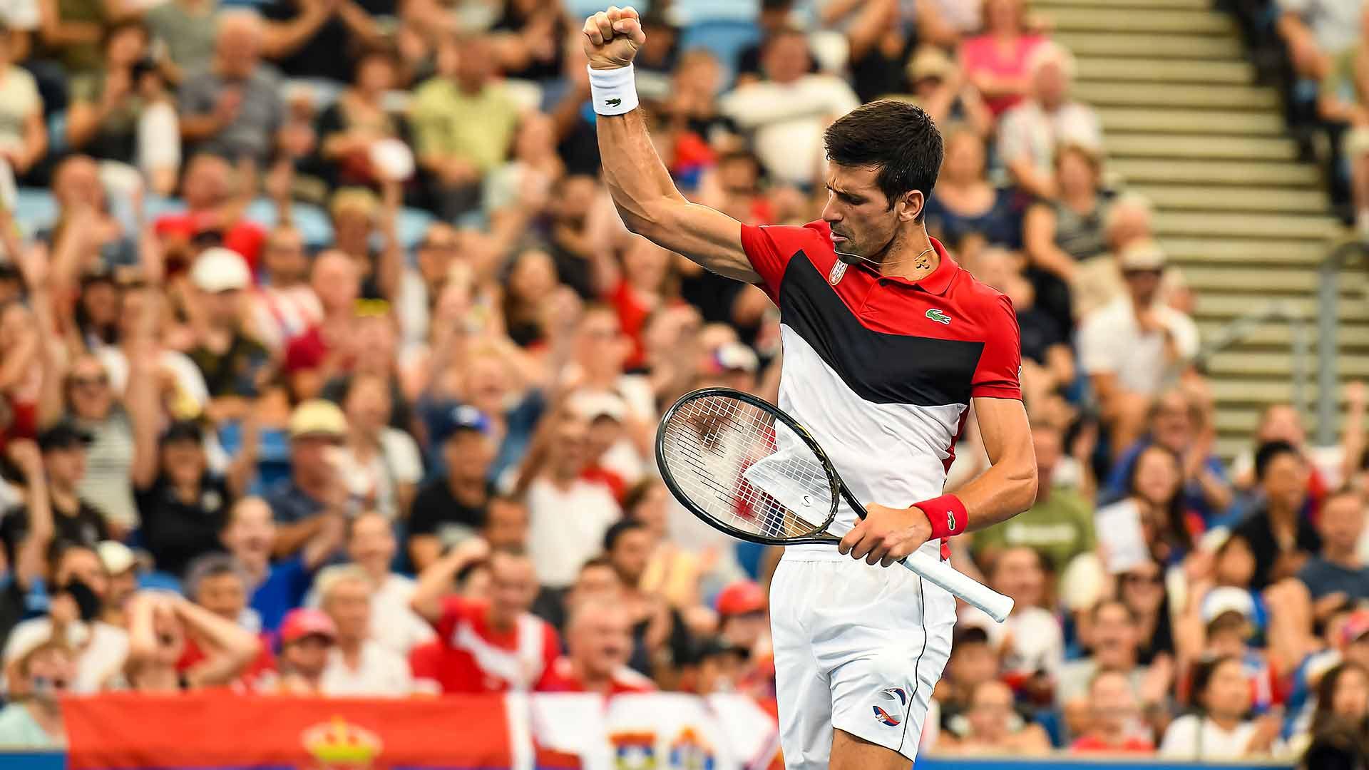 Novak Djokovic On Atp Cup Environment I Cherish These Moments Atp Tour The Union Journal