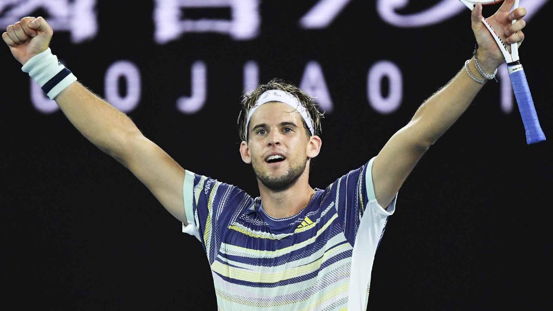 Dominic Thiem Stuns Nadal To Reach First Semi-final In Melbourne ...