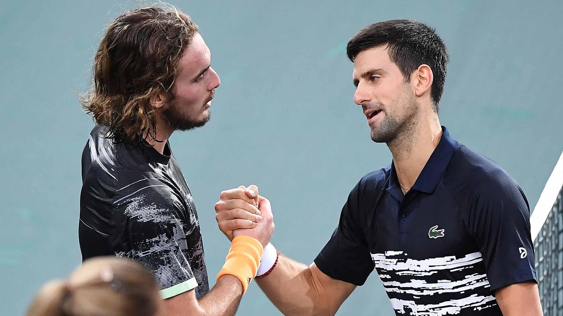 Blockbuster Dubai Final Novak Djokovic Stefanos Tsitsipas Add Chapter To Budding Rivalry Atp Tour The Union Journal
