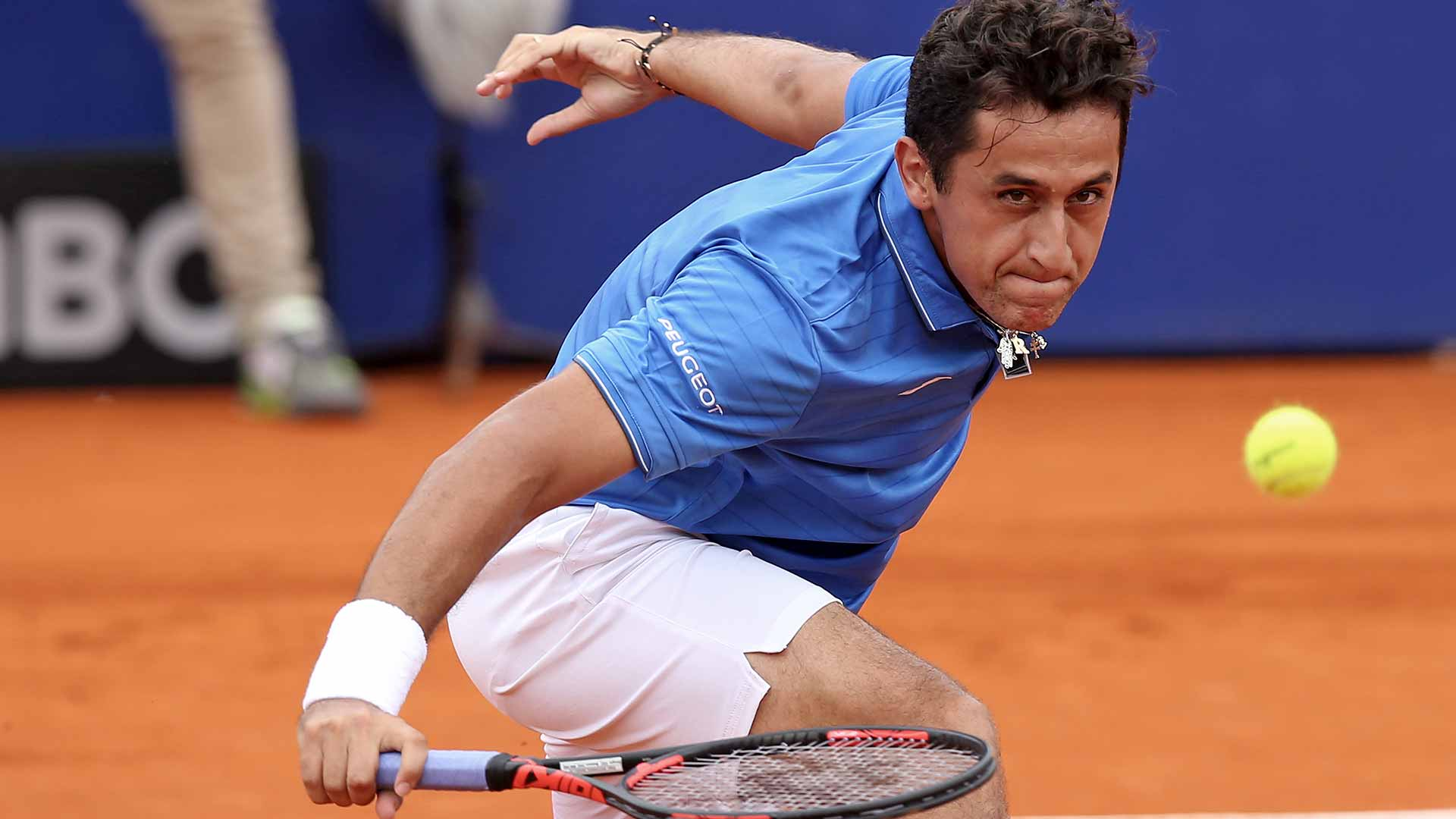 Nicolas Almagro enjoys a 6-3, 6-3 opening-round win in Buenos Aires.