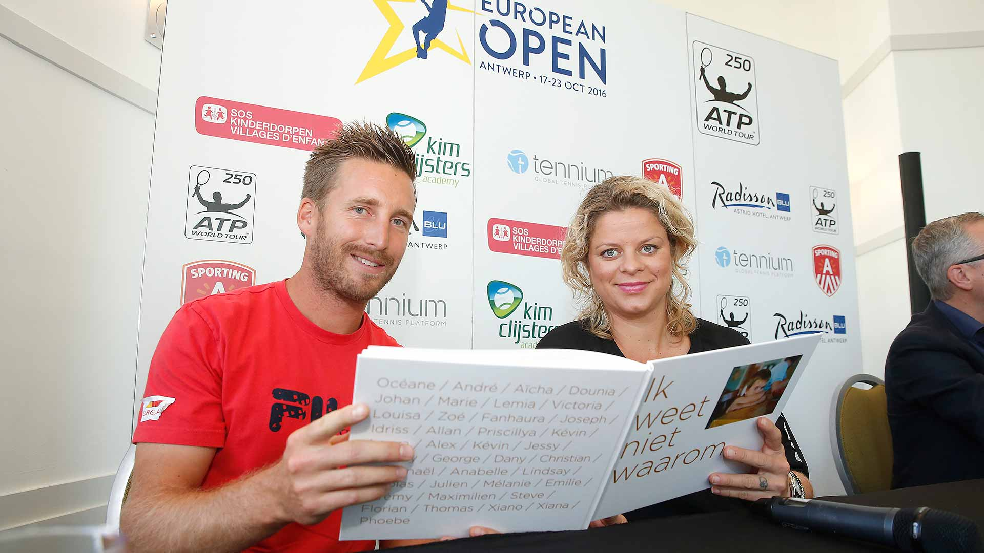 The European Open will host a Guiness World Record attempt for a good cause.