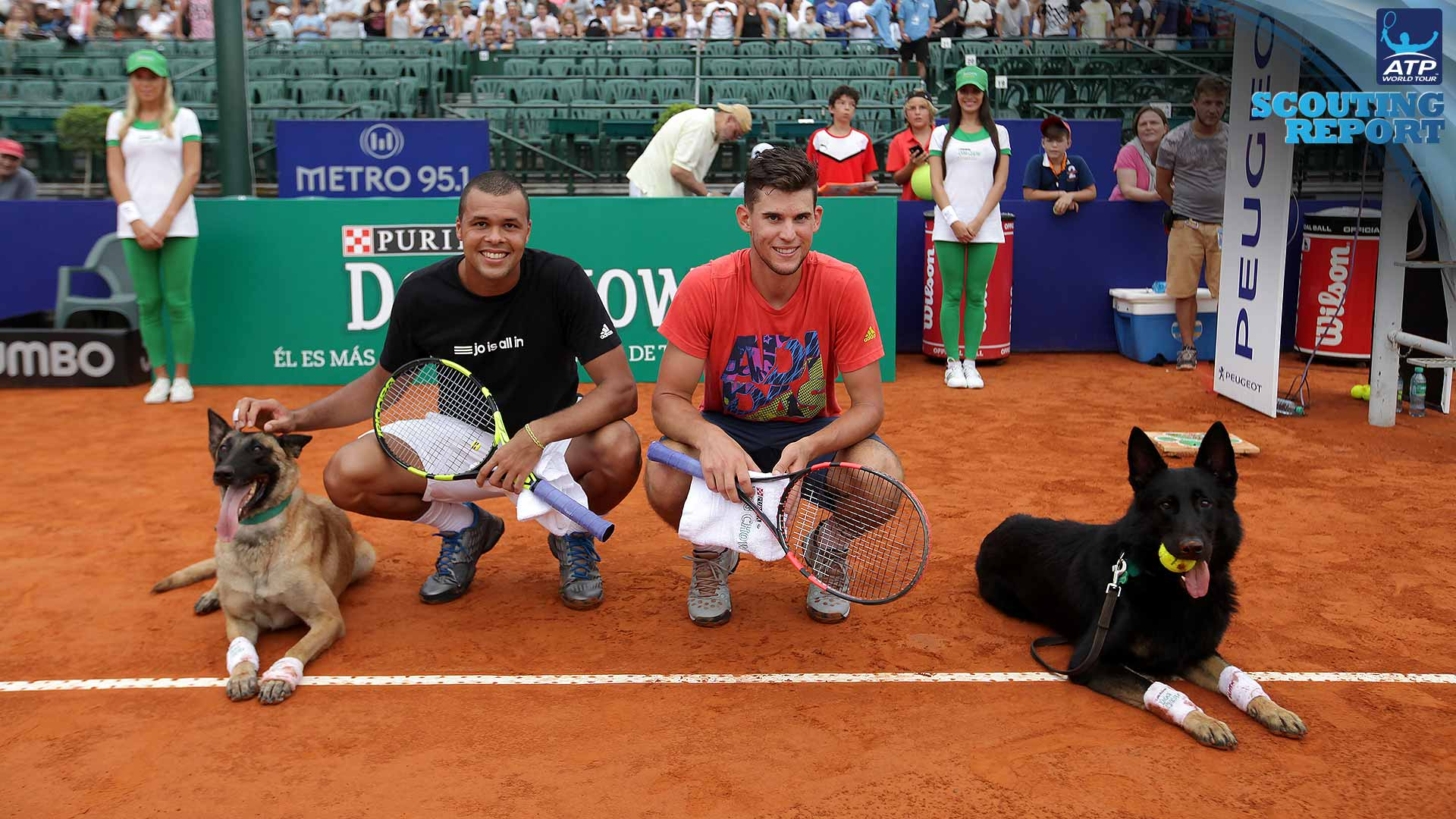 Tsonga and Thiem