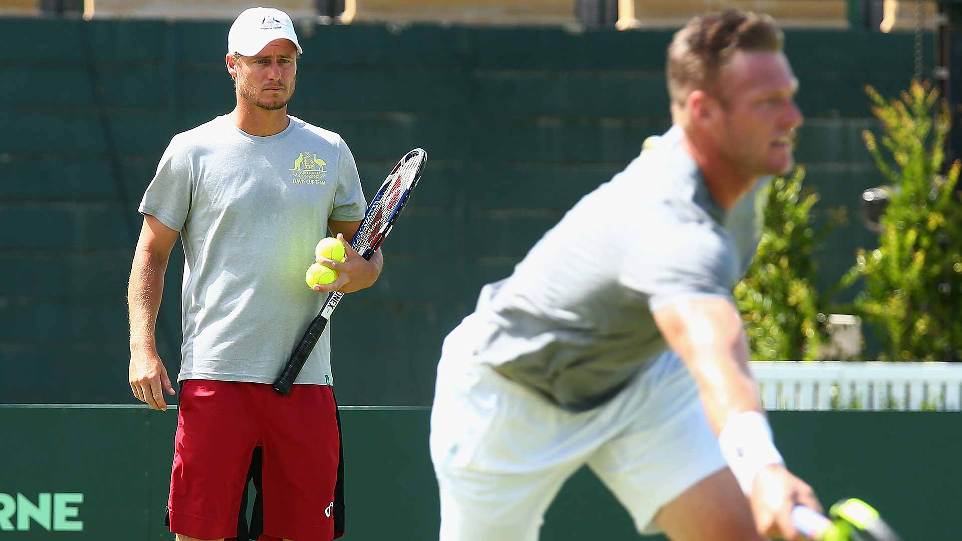 Lleyton Hewitt will make his debut as Australian Davis Cup captain in Kooyong.