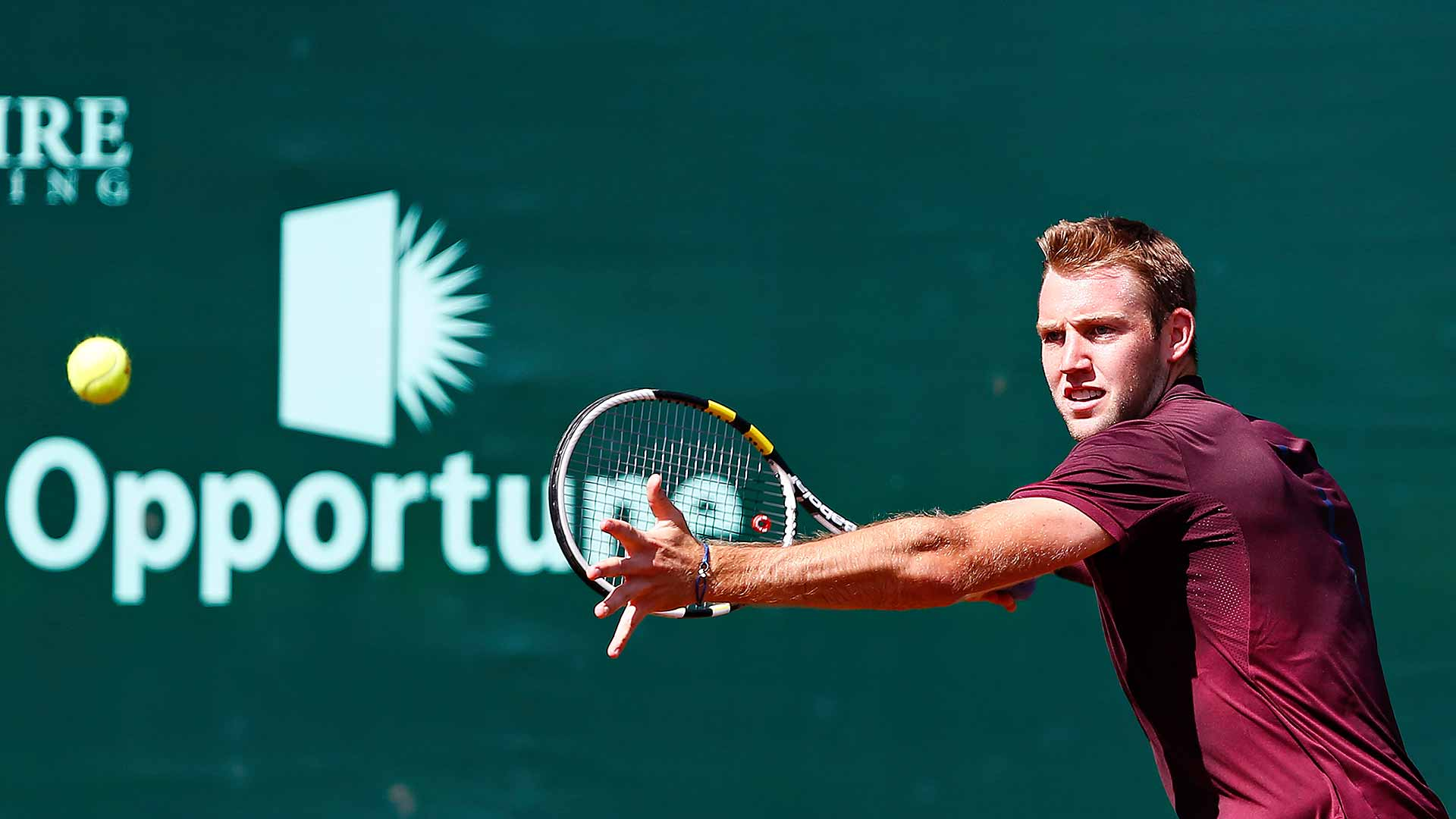 Jack Sock advances to the quarter-finals in Houston.