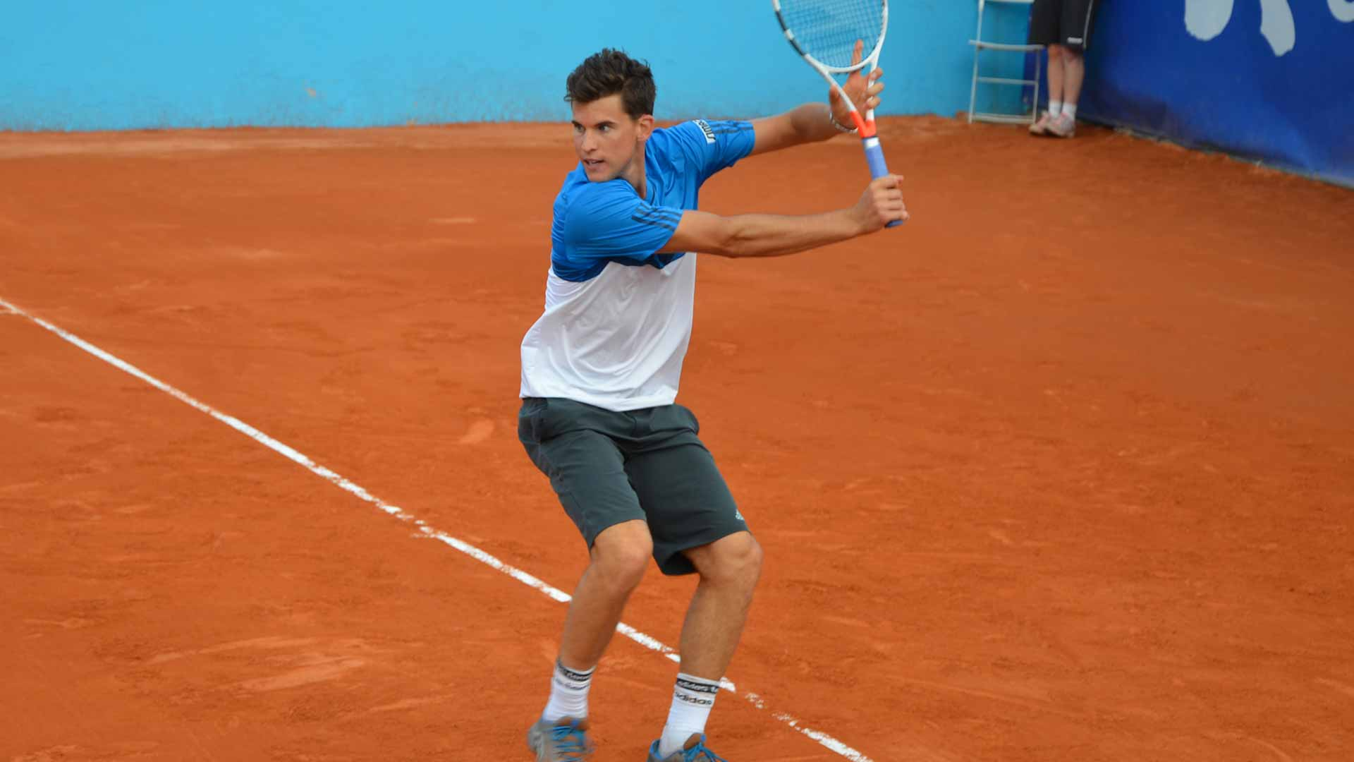 Dominic Thiem downs Andreas Seppi to advance to the semi-finals.