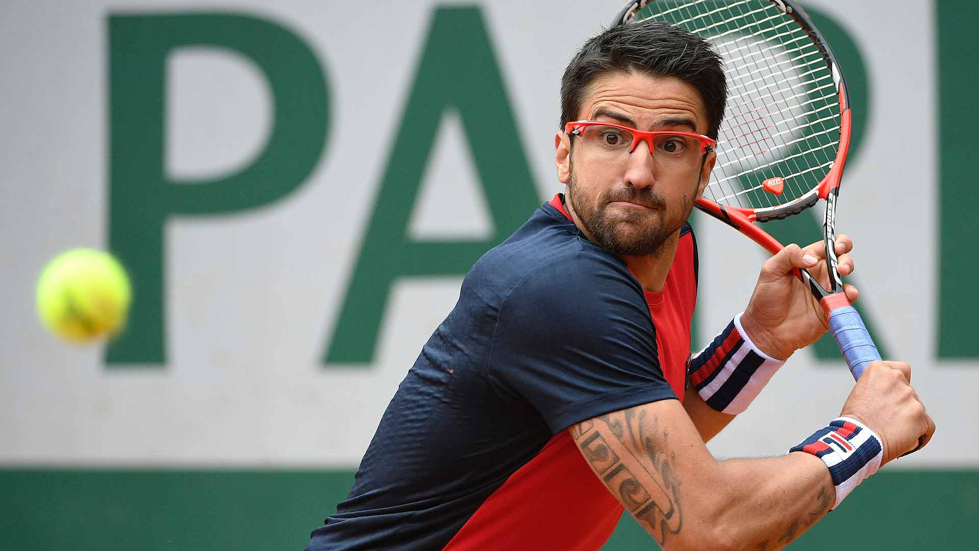 Janko Tipsarevic is continuing his comeback at Roland Garros.