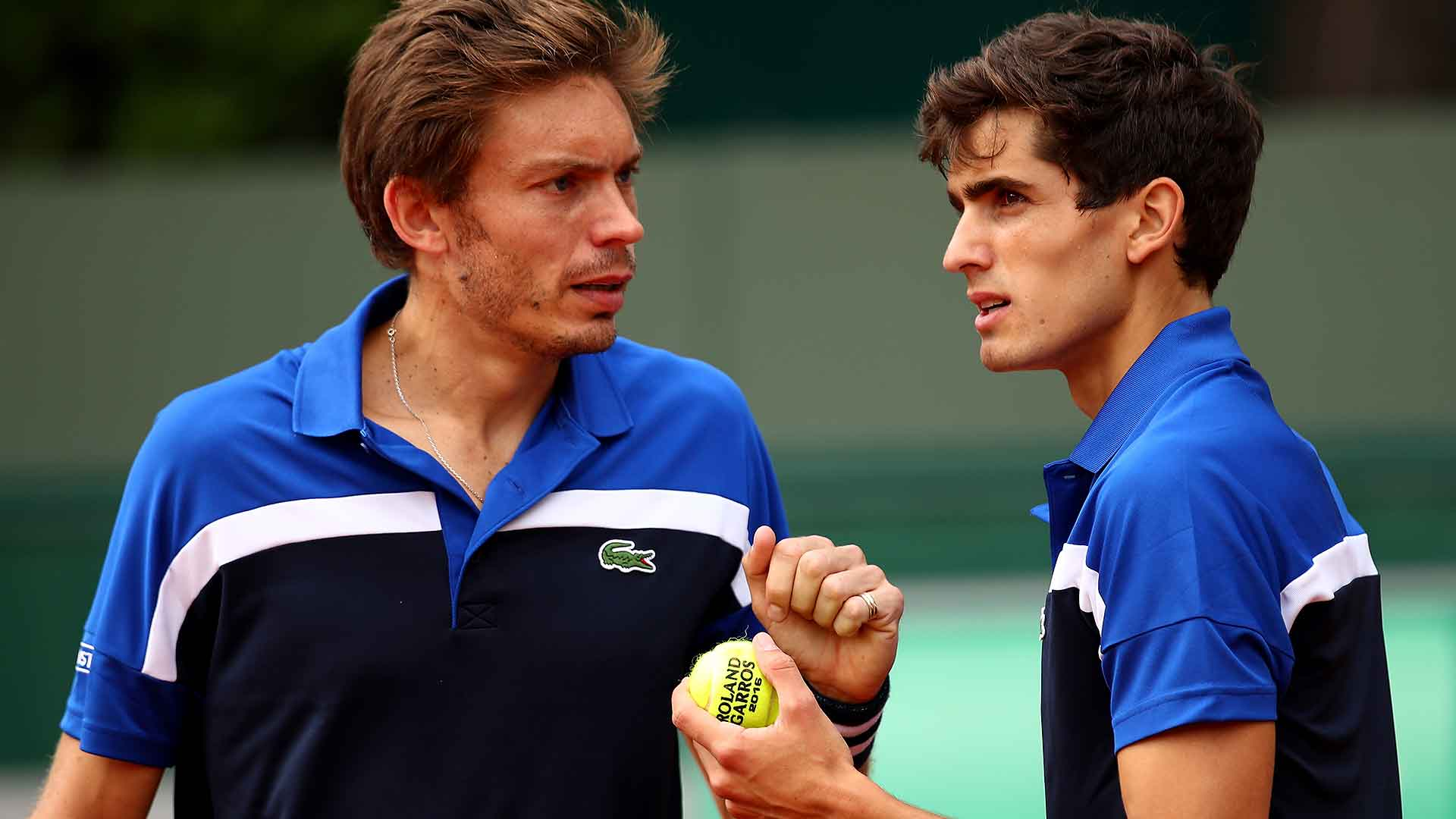 Nicolas Mahut and Pierre-Hugues Herbert are playing for their second Grand Slam doubles title.