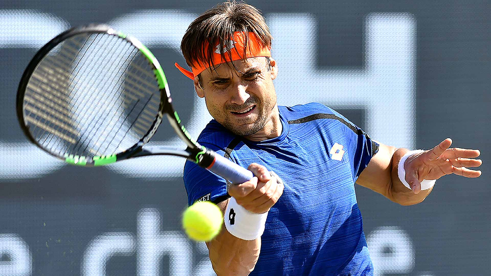 Top seed David Ferrer tops Dudi Sela in the second round.