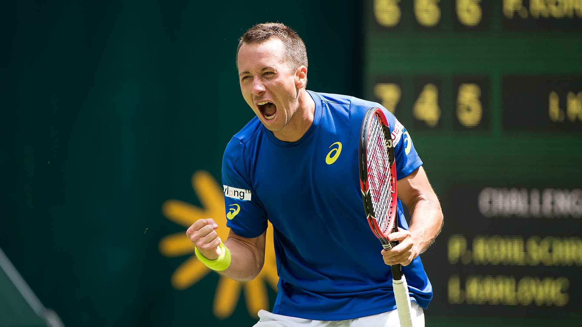Philipp Kohlschreiber is tied with Michael Stich for third in ATP World Tour match wins among Germans.