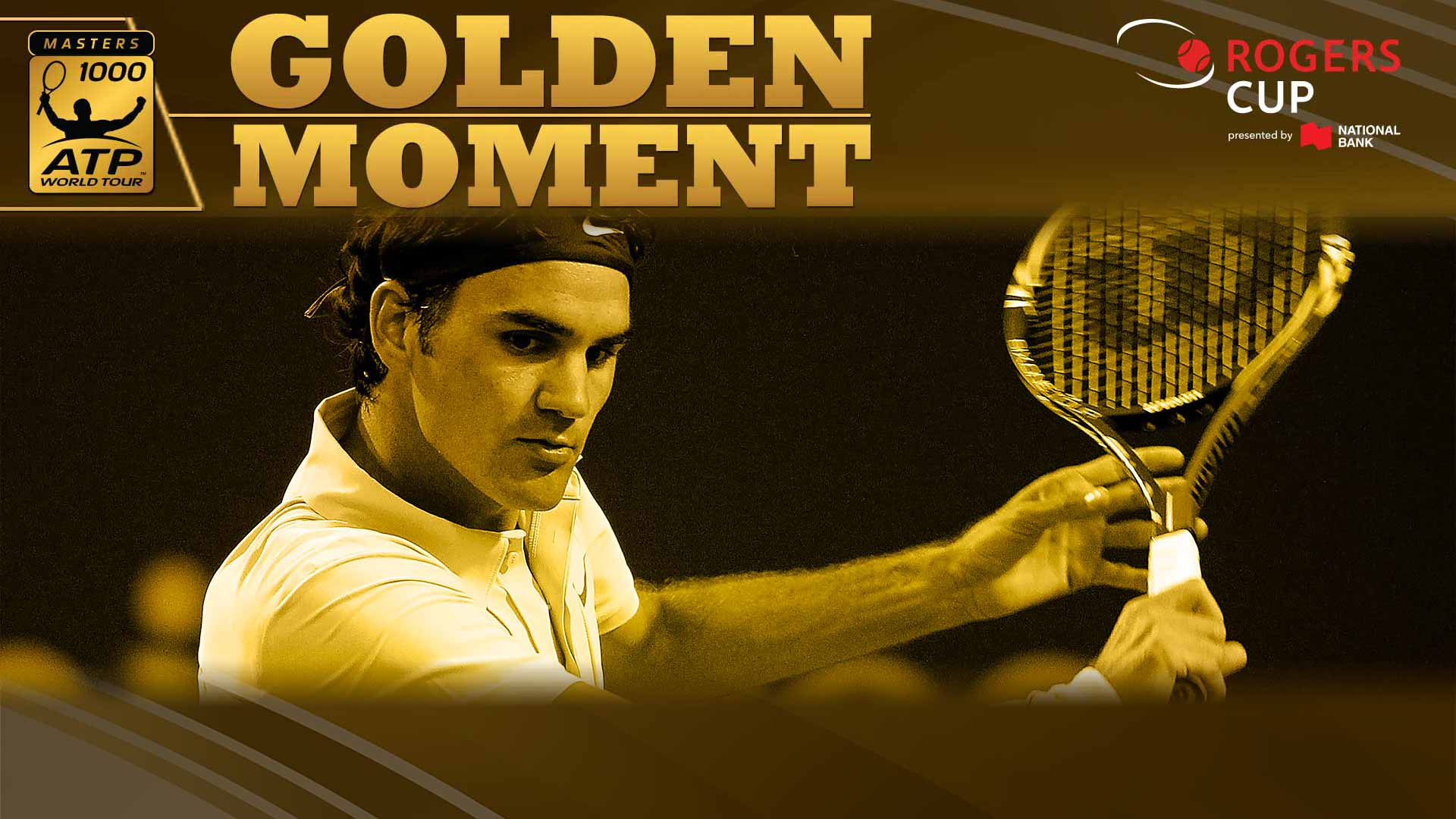 Federer Golden Moment