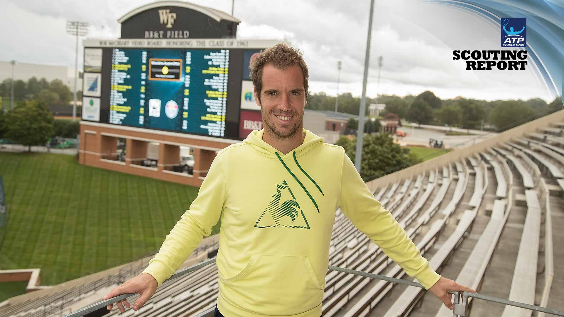 Richard Gasquet is top seed at the Winston-Salem Open.