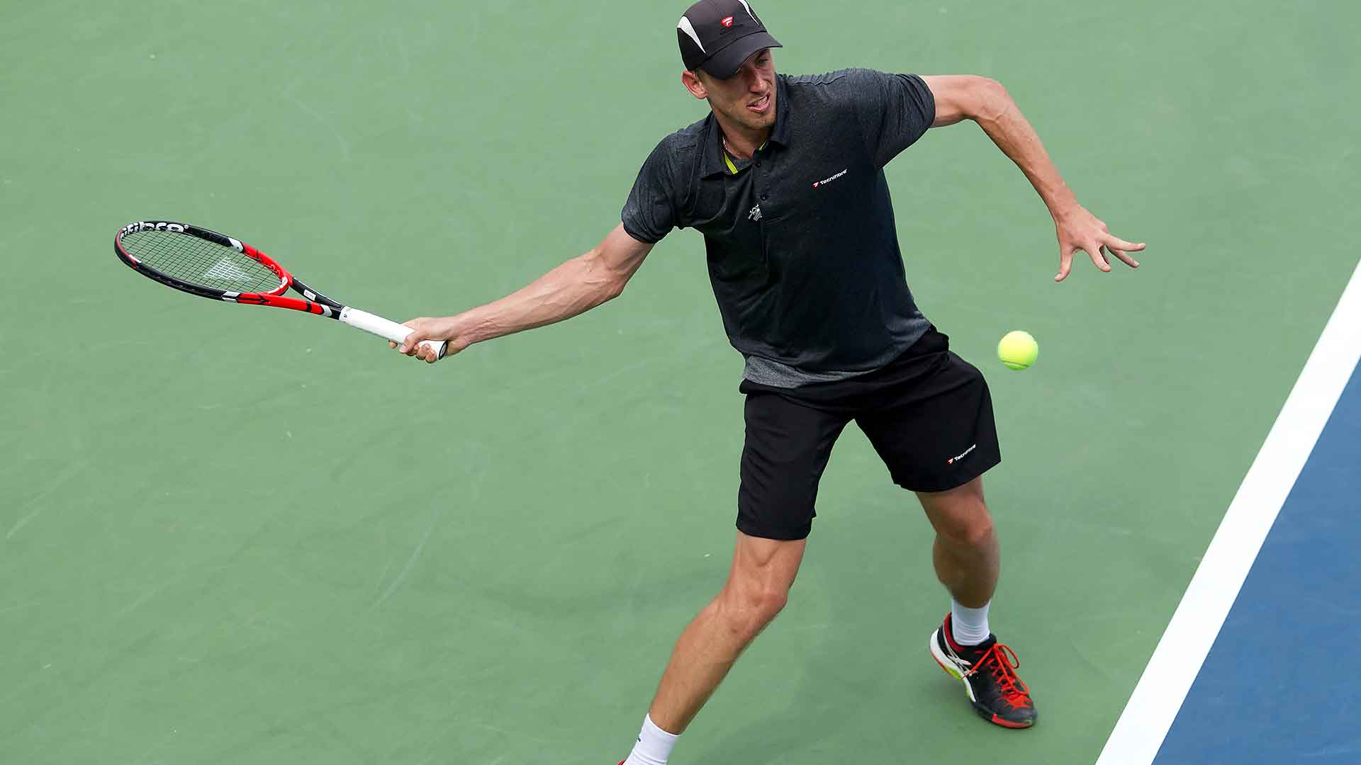 John Millman is into his first ATP World Tour semi-final after downing Richard Gasquet.