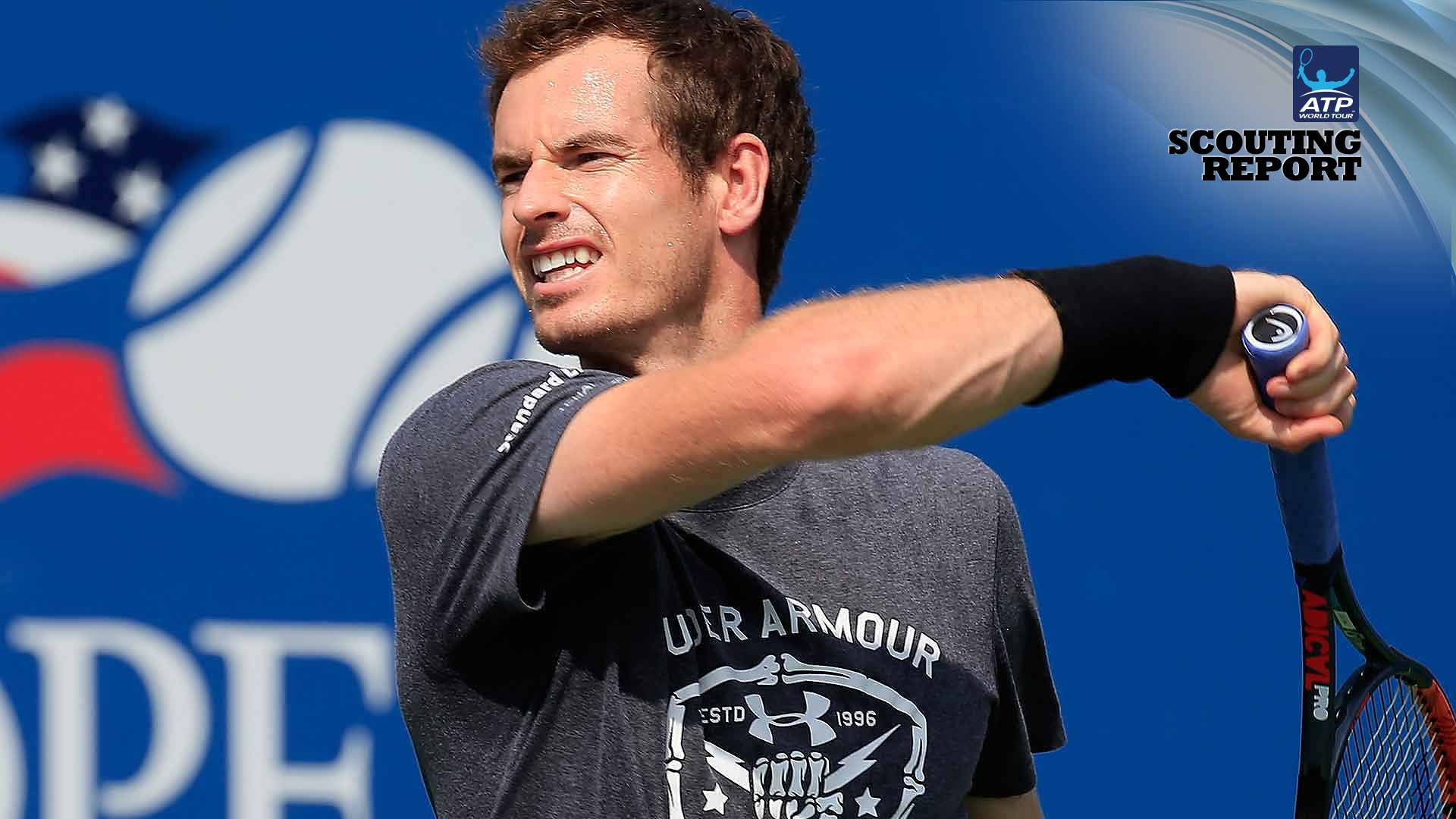 Andy Murray will attempt to win a second US Open title.