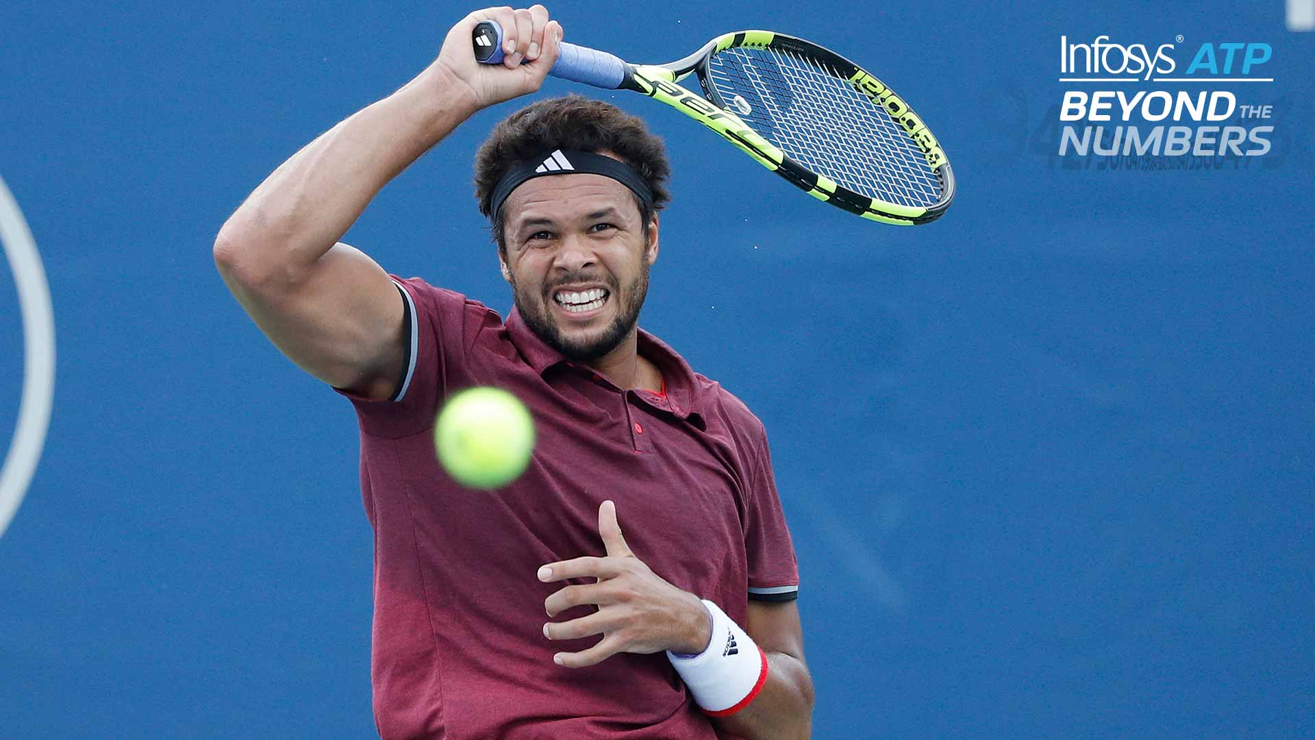 Tsonga is 18 per cent more likely to break serve if he wins the first point of the game.