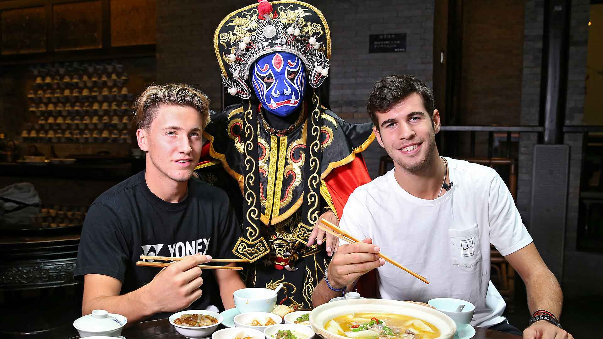 Ruud and Khachanov