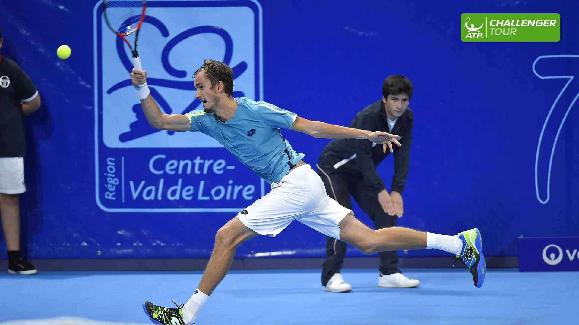 Daniil Medvedev looks for more ATP Challenger Tour success in Orleans.