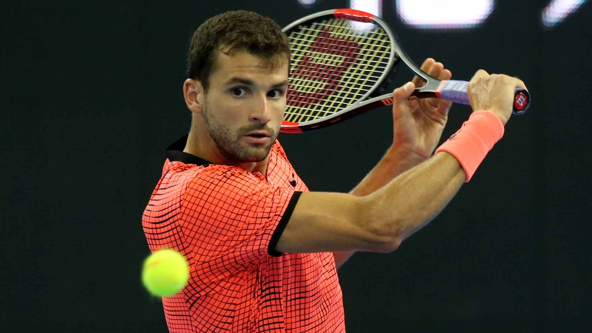Grigor Dimitrov scores a huge win over Rafael Nadal on Friday at the China Open.
